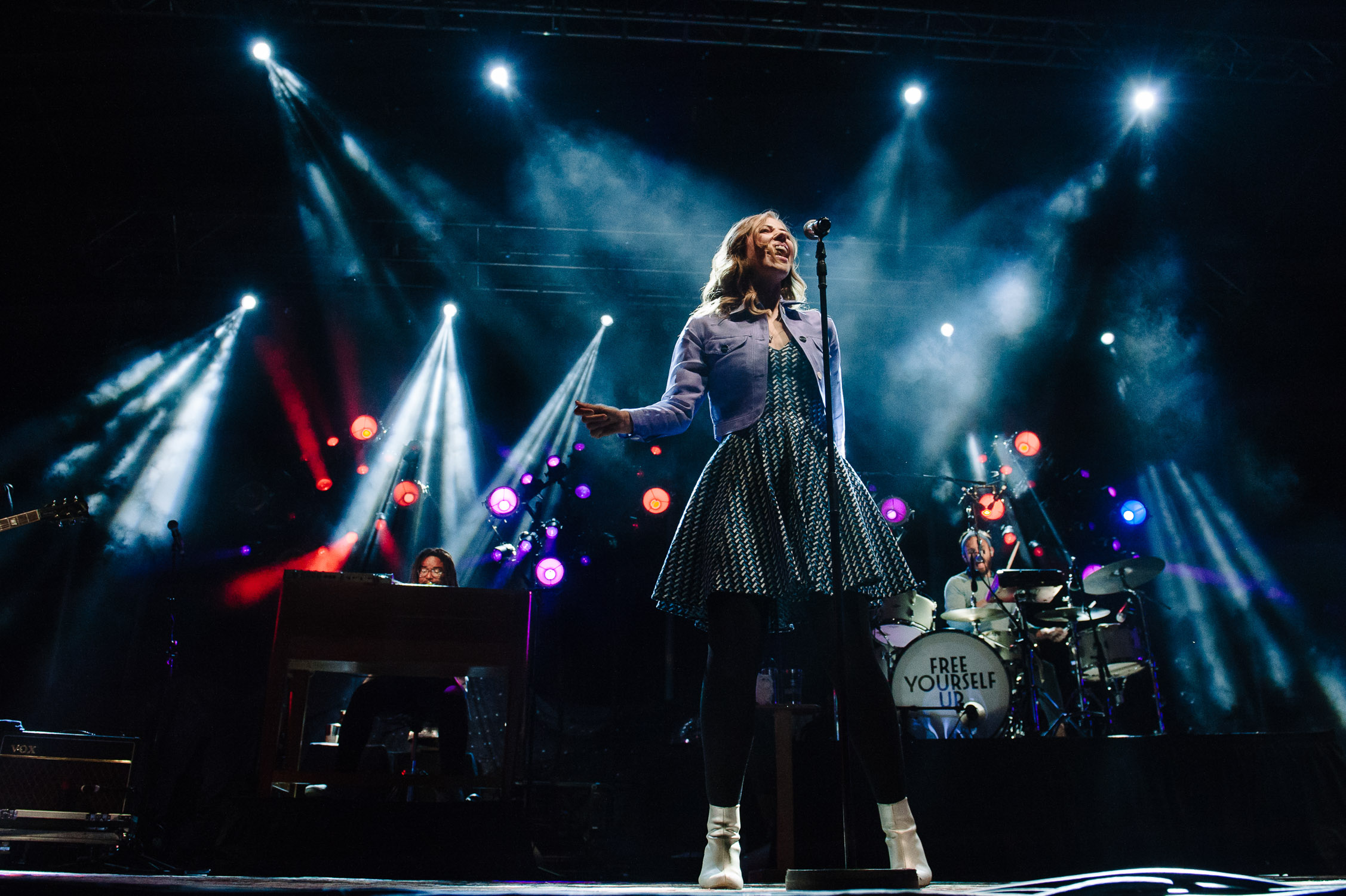 Rachael Price Lake Street Dive sings on stage