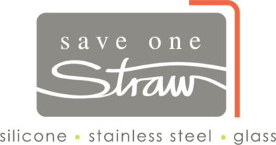 Save one straw logo